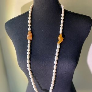 Never worn cultured pearl necklace